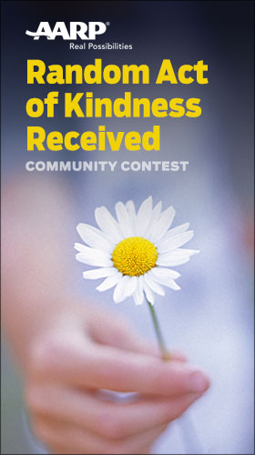 Random Acts of Kindness Received Contest